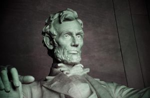 Federal False Claims Act: (Lincoln's Law) Abraham Lincoln Statue